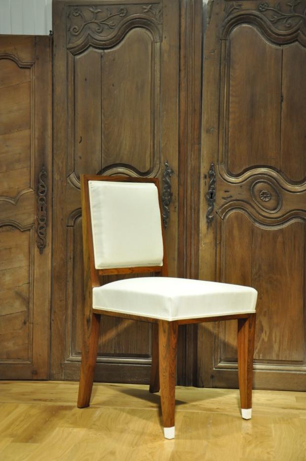 Chaise Art Déco Palisandre de Rio